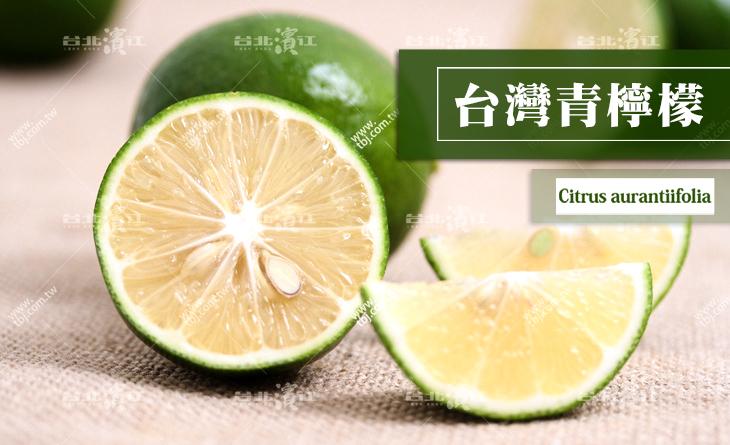 【台北濱江】香氣濃郁台灣A尚青!青檸檬有籽1KG裝