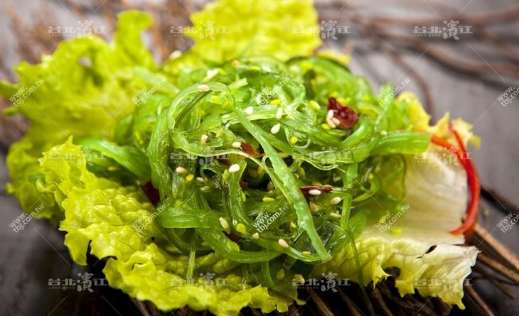 【台北濱江】夏天吃最合適~冰冰涼涼帶點酸辣~好開胃阿~和風裙帶絲 200g/包