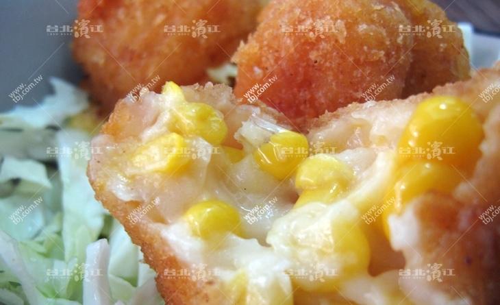 【台北濱江】日本原裝進口人氣王-奶油玉米球10顆/包