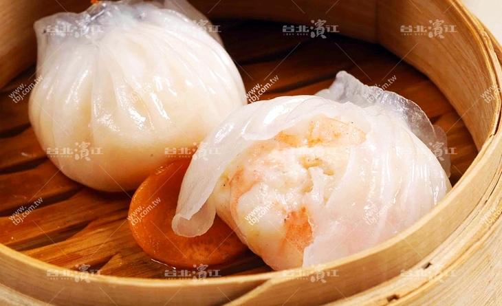 【台北濱江】皮薄柔軟,鮮蝦彈牙,組合成口感超群的港式茶點-經典鮮蝦餃10粒/盒