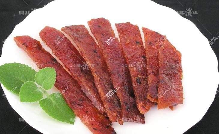 【台北濱江】超美味香草豬製成,多汁軟嫩超口感-蜜汁肉乾150g/份