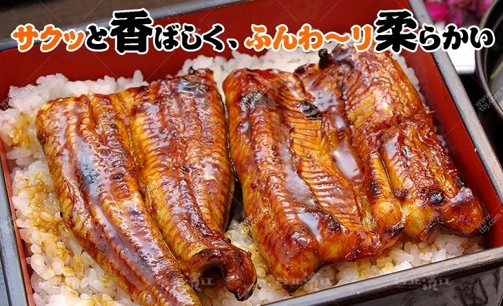 【台北濱江】胖虎最愛の鰻魚❤好吃到讓你忍不住唱出歌來~對切日式蒲燒鰻125g/片