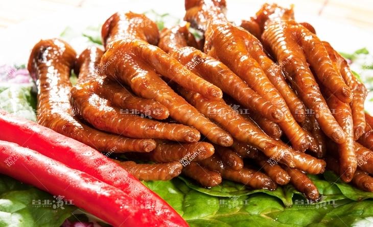 【台北濱江】打發時間最佳小吃~嘴饞又怕發胖的時候就要選這味啦~上選鳳爪200g/包