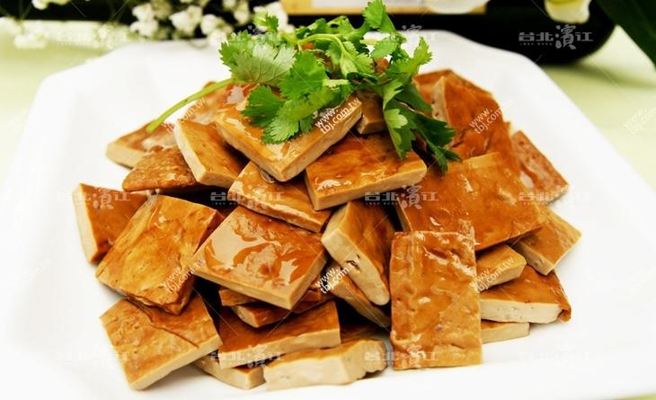 【台北濱江】蒜頭香加上醬油香,簡簡單單的調味一樣擁有好滋味~蒜味小方干 200g/包