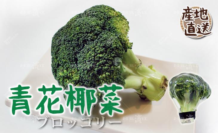 【台北濱江】蔬菜之王!烹煮簡單又美味是最佳拌料菜!日式蔬菜新上市-青花椰菜250-300g/顆