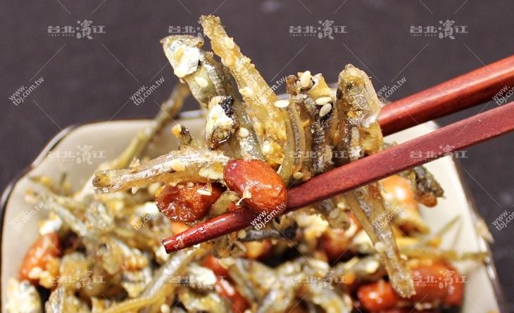 【台北濱江】下酒必備!!一口接一口超香的~台灣製造-丁香小魚乾花生濱江 魚 市200g/包
