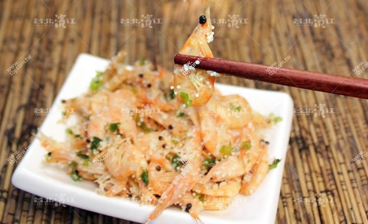 【台北濱江】全家大小都喜歡~保留原始海味~連殼一濱江 魚 市 上 引 水產起吃好營養!味付南極蝦1kg/包