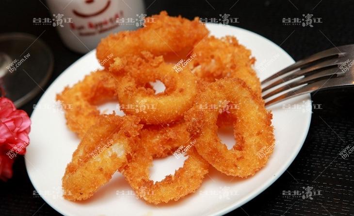 【台北濱江】美國最流行的餐點台北 濱江 市場,酥脆外皮吃的到飽滿內餡-洋蔥圈900g