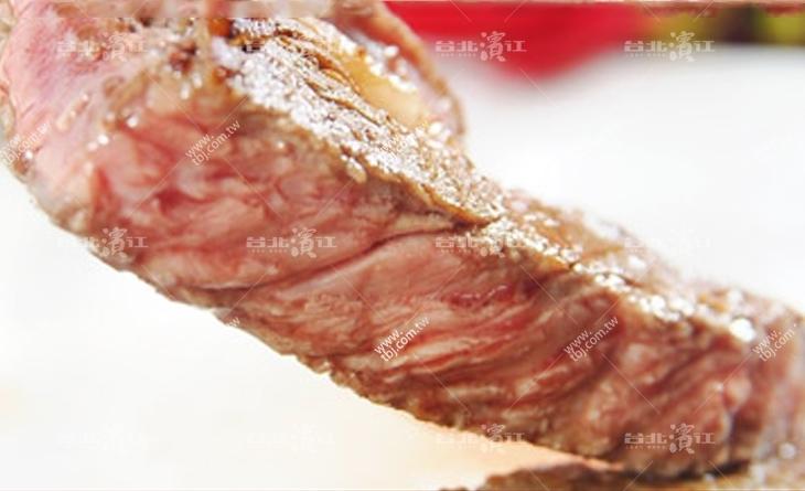 【台北濱江】五星級料理網友力推~平價鮮嫩巨量-頂濱江 牛肉級美國安格斯嫩肩沙朗牛排8OZ