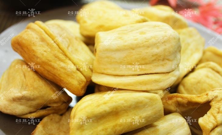 【台北濱江】給你最香甜的好滋味,自然甘甜風味★台灣製造★菠蘿蜜天然濱江市場好吃美食水果脆片50g/包
