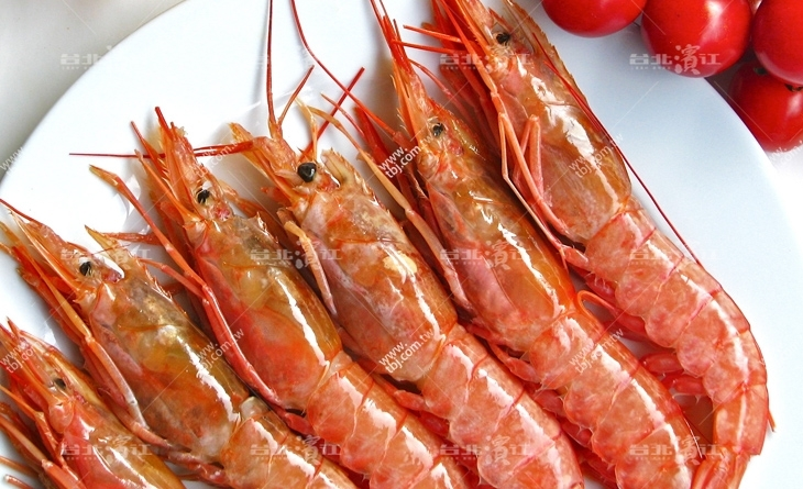 【台北濱江】歐洲最頂級生食食材!肉質綿密彈牙~饕客最台北 市場 美食愛!頂級阿根廷L1天使紅蝦2kg/盒