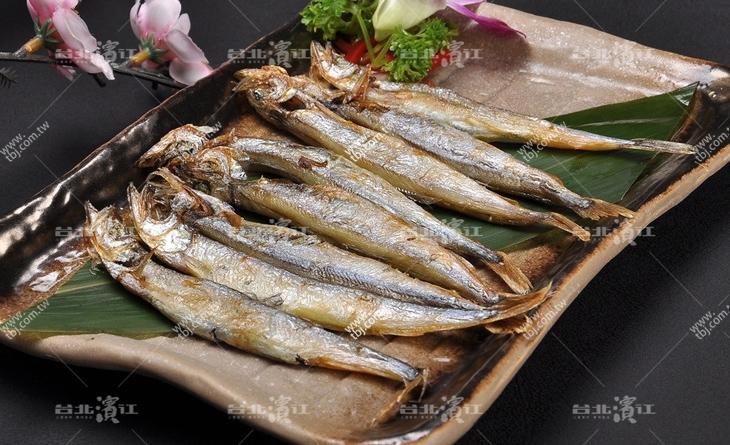 【台北濱江】小朋友最愛的蛋蛋魚!金黃魚蛋~營養台北 市 濱江 街滿點~新鮮柳葉魚200g/包