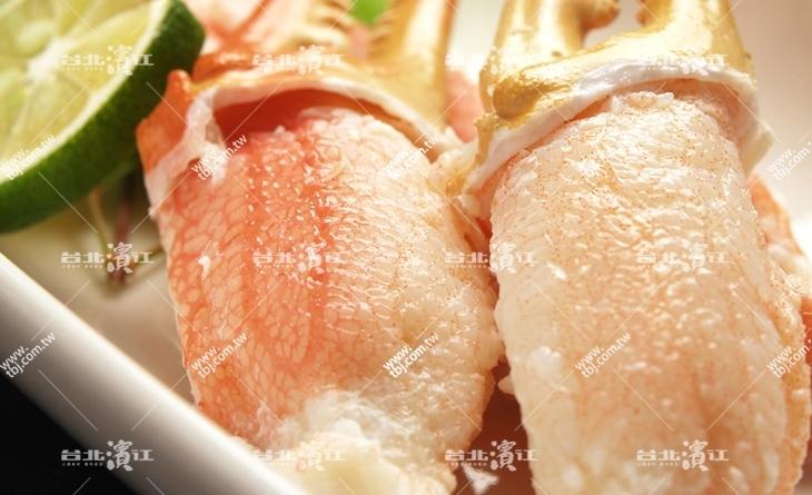 【台北濱江】欲罷不能頂級美味~鮮甜緊實超.濱江 驗 車 廠Q.彈!L超大去殼松葉蟹爪1kg/包