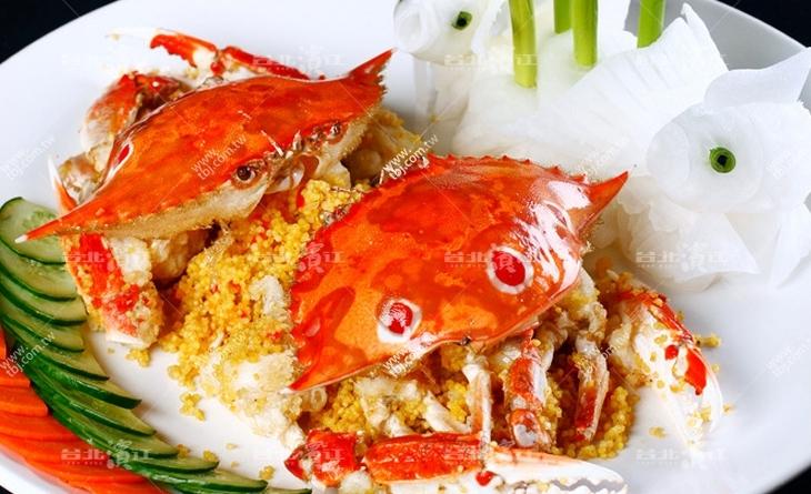 【台北濱江】濱江 街 美食CP值超高!漁民老饕嘴裡的蟹中極品~萬里特產生凍三點蟹150-200g/隻