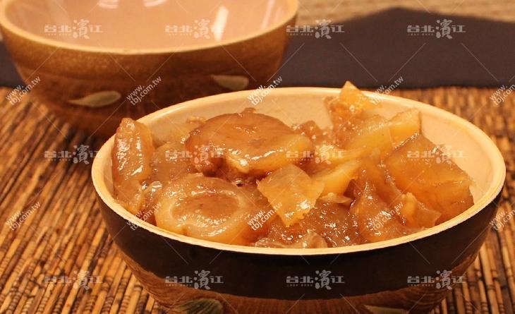 【台北濱江】有下過功濱江 市場 大閘蟹夫的捏~膠質好多超Q超彈~新鮮香嫩好好吃~五香滷牛筋200g/包