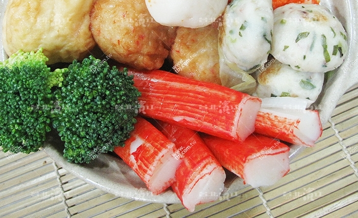 【台北濱江】日本空運進口和風火鍋料-超甜美蟹肉棒250g新 北市 美食 推薦/包